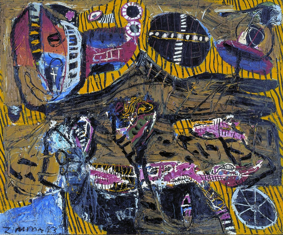 Nordwind , 1963 Oil on canvas 140 x 170 cm
