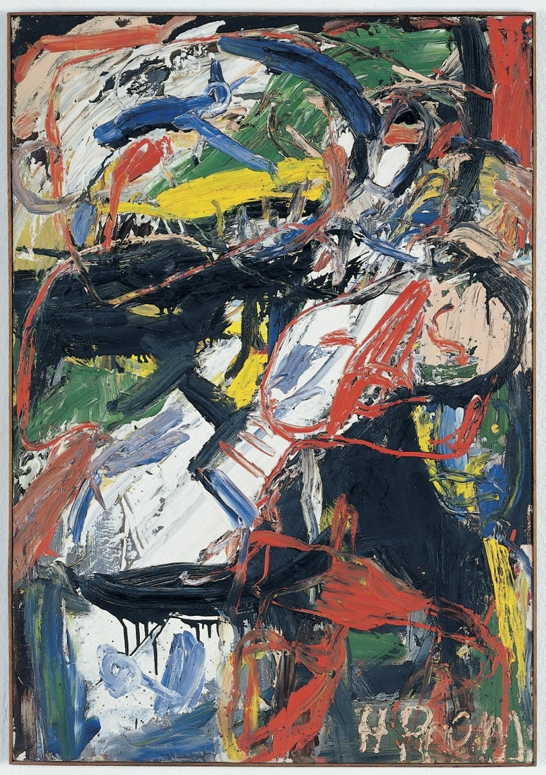 Heimrad Prem Untitled, 1961 Oil on canvas 160 x 90 cm