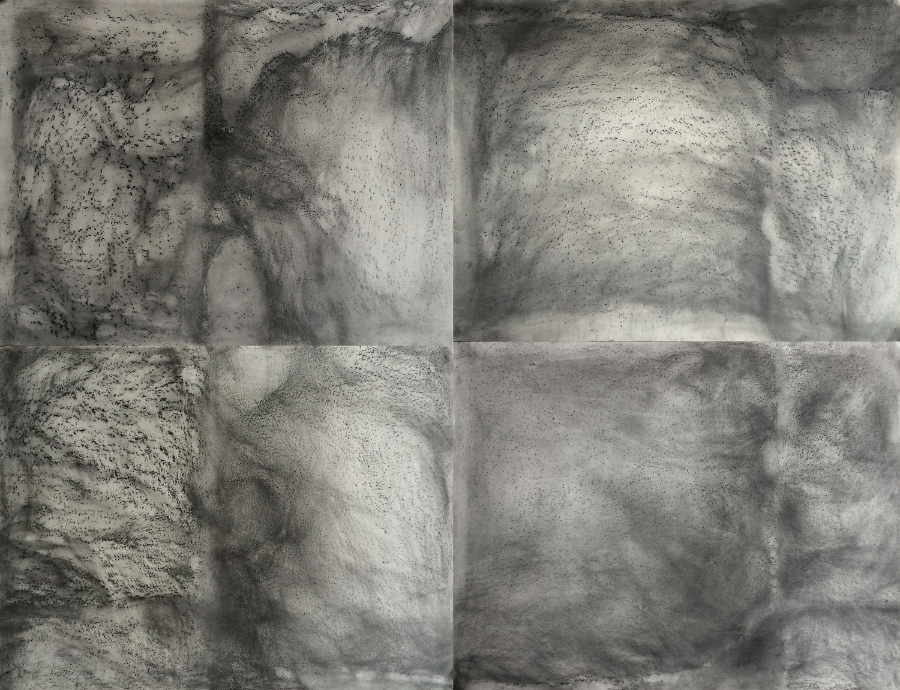 Untitled, 2015 Chalk, pastel and pencil on paper 100 x 130 cm