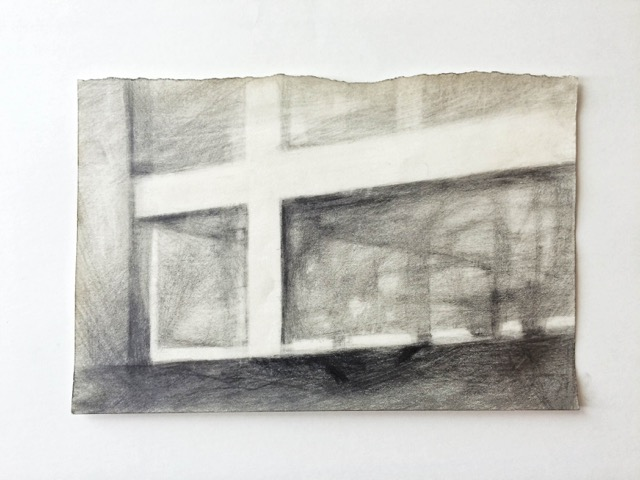 Untitled ( Range of Void #3) , 2014 Graphite pencil on paper 13,5 x 21 cm