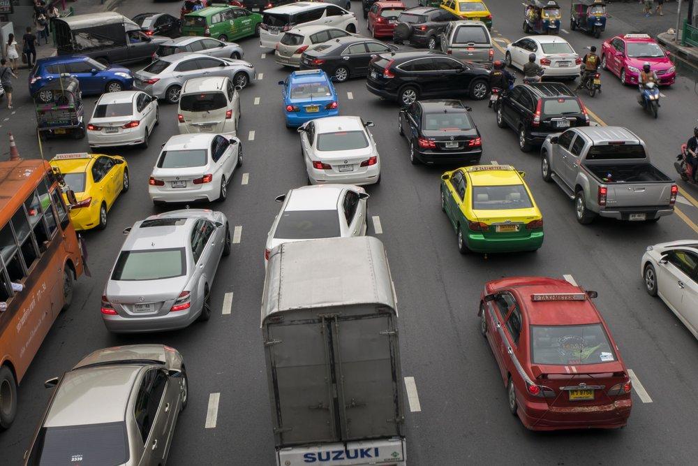 Crazy Bangkok Traffic