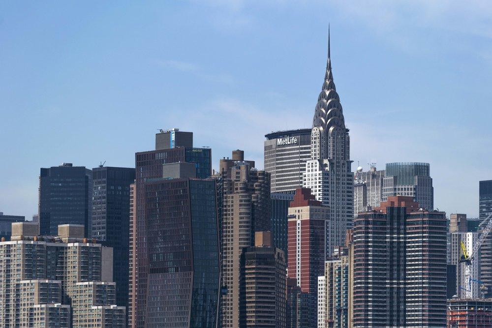 NYC Skyline From Brookyln