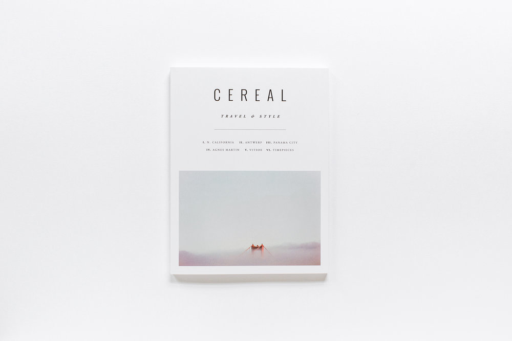 Cereal Magazine  Photo Credit: http://www.cowandcocafe.com/features/cereal-magazine/