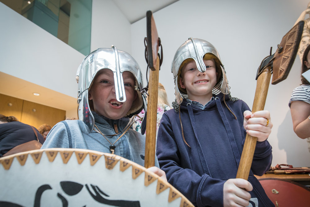 Ashmolean - Anglo-Saxon and Vikings Big Weekend by Ian Wallman-54.jpg