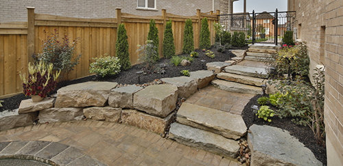 View the Stonework and Landscaping Gallery
