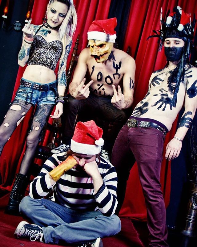 Merry Deathmas everyone!! #punk #metal #music #livemusic #loud #scream #london #gig #singer #rock #punkrock #moshpit #guitars #drums #vocals  #industrial #festival #rockandroll #band #goth #scary #punkrocker #metalhead #alt  #concert #diy #digitalmusic #musicians #review #tour