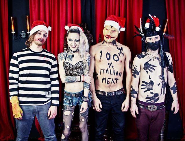 Merry Deathmas! #punk #metal #music #livemusic #loud #scream #london #gig #singer #rock #punkrock #moshpit #guitars #drums #vocals  #industrial #festival #rockandroll #band #goth #scary #punkrocker #metalhead #alt  #concert #diy #digitalmusic #musicians #review #tour