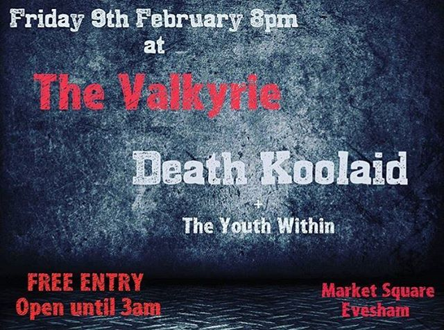 This Friday in Evesham! #punk #metal #music #livemusic #loud #scream #london #gig #singer #rock #punkrock #moshpit #guitars #drums #vocals  #industrial #festival #rockandroll #band #goth #scary #punkrocker #metalhead #alt  #concert #diy #digitalmusic #musicians #review #tour