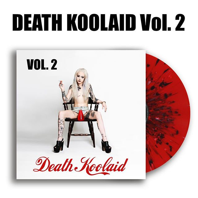 Death Koolaid Vol. 2 vinyl! Who wants some?!? #punk #metal #music #livemusic #loud #scream #london #gig #singer #rock #punkrock #moshpit #guitars #drums #vocals  #industrial #festival #rockandroll #band #goth #scary #punkrocker #metalhead #alt  #concert #diy #digitalmusic #musicians #review #tour