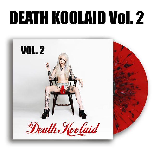 Death Koolaid Vol. 2 vinyl! Who wants some?!? #punk #metal #music #livemusic #loud #scream #london #gig #singer #rock #punkrock #moshpit #guitars #drums #vocals  #industrial #festival #rockandroll #band #goth #scary #punkrocker #metalhead #alt  #concert #diy #digitalmusic #musicians #review #tour