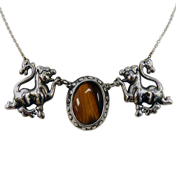 Hearst Lions Necklace
