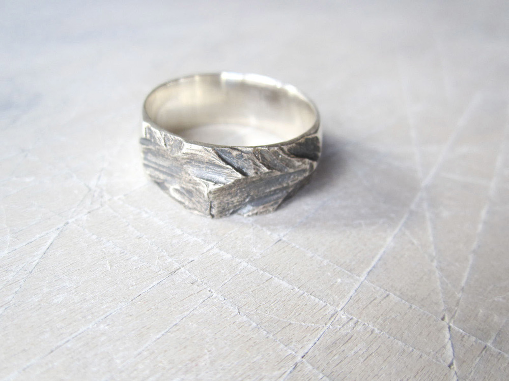 Silver Pitch Ring