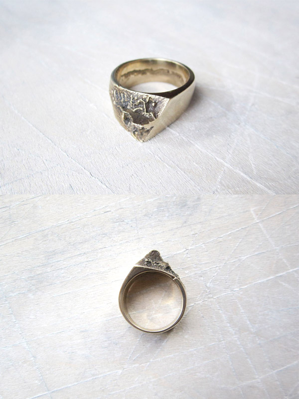 Bronze Upheave Ring