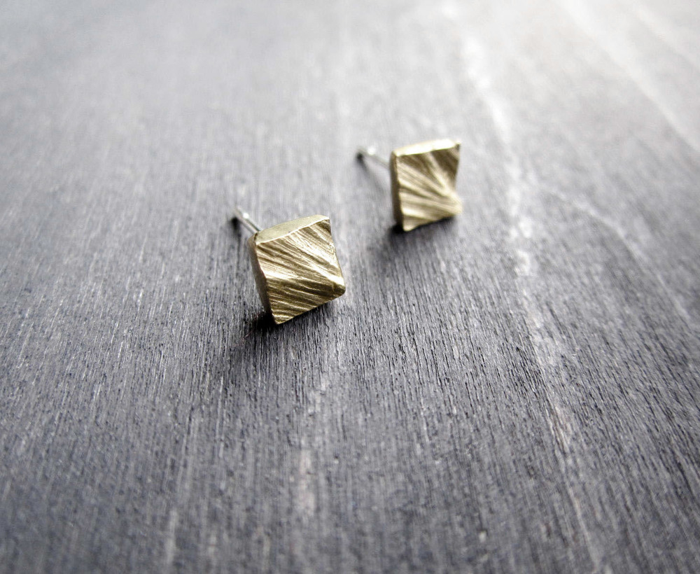 Bronze Harness Studs (small)
