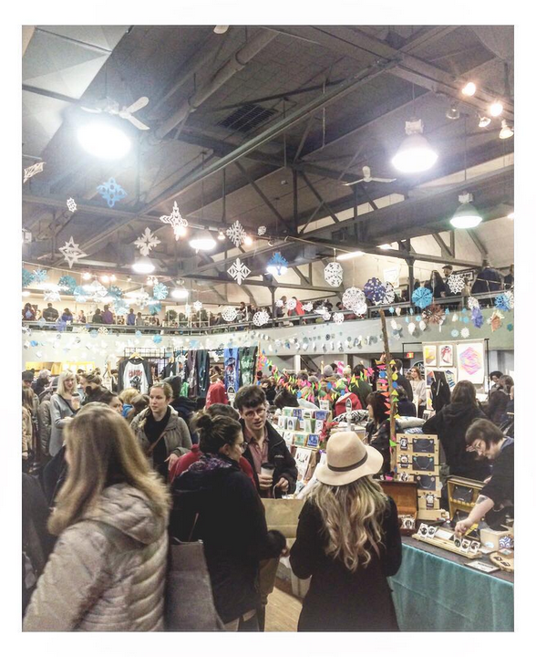 Halifax Crafter's 2016 Winter Market, Halifax, NS.