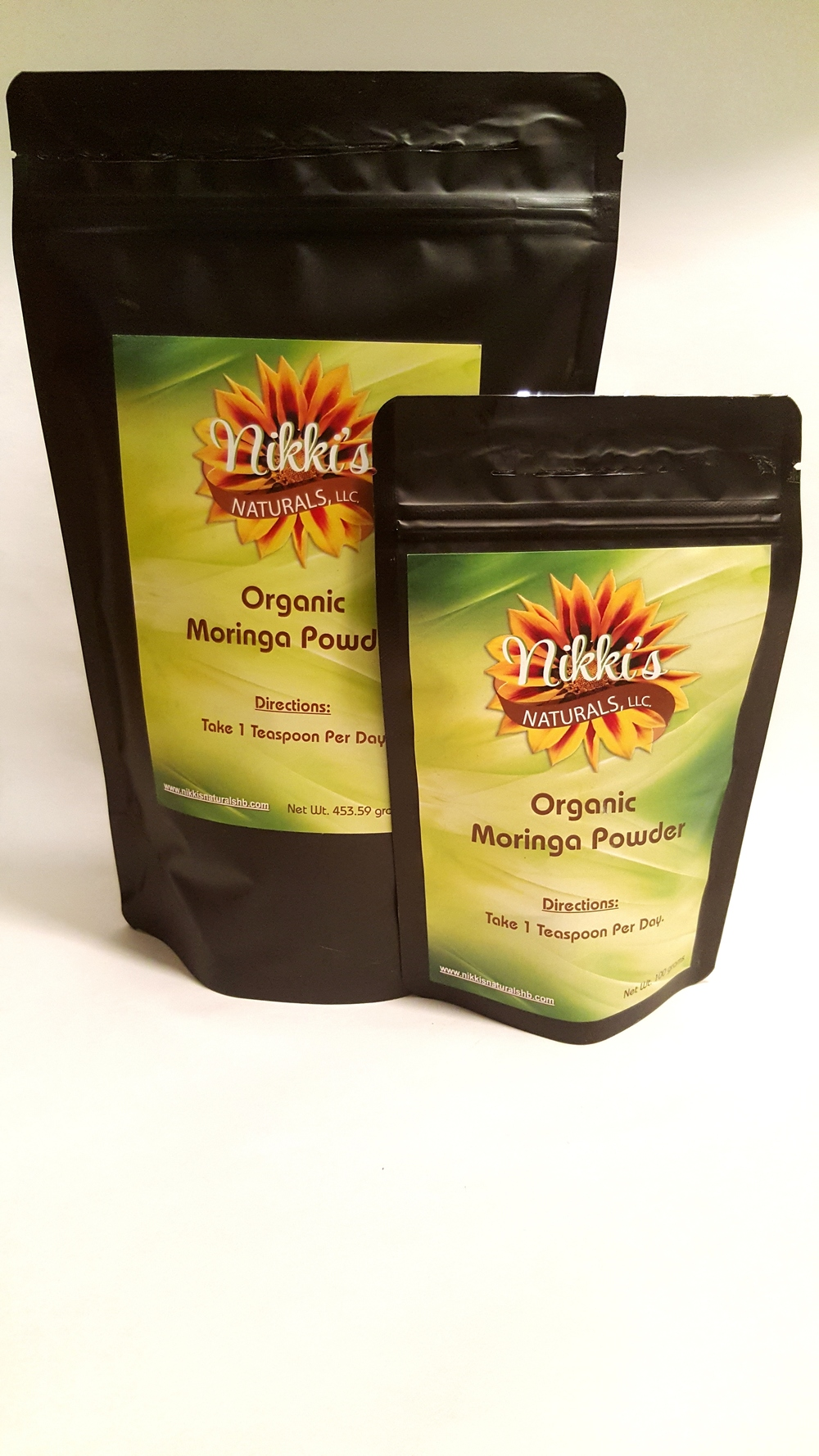Moringa Oleifera Powder  100 grams $12.00  1 lbs $32.00