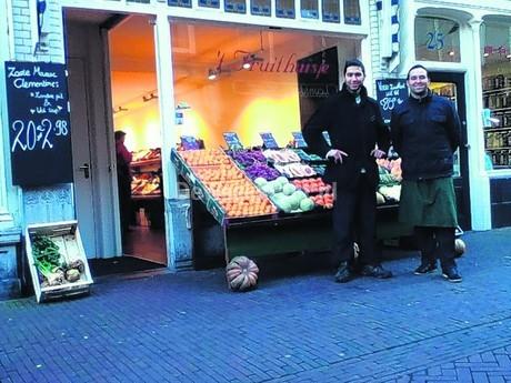 Soms zie je ze - letterlijk - door Delft rennen.