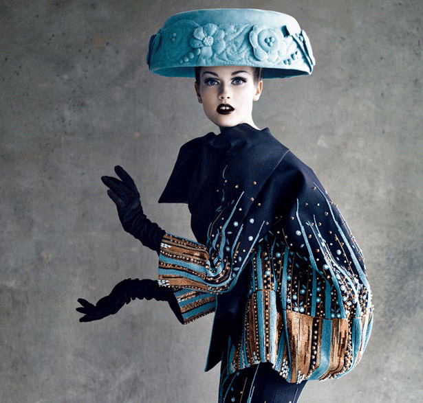 Christian Dior, Haute Couture 2008, photo by Patrick Demarchelier (WWD)