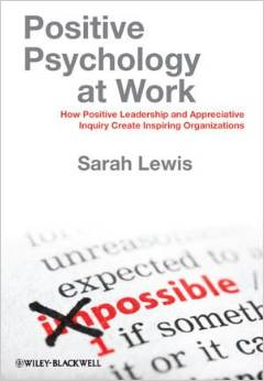 Positive Psychology At Work is Sarah's first sole work