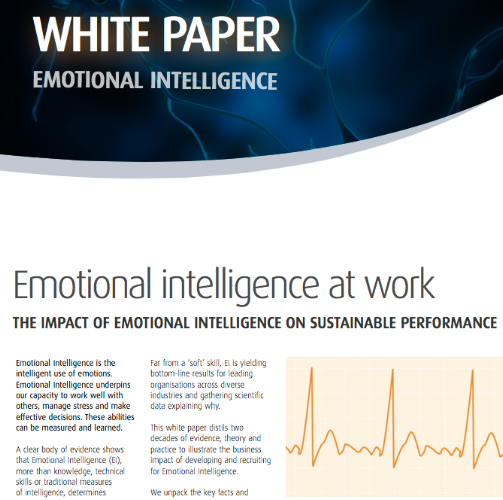 impact of emotional intelligent on effective Can help people to be more effective at work emotional intelligence and each of these factors influences emotional intelligence through its impact on.
