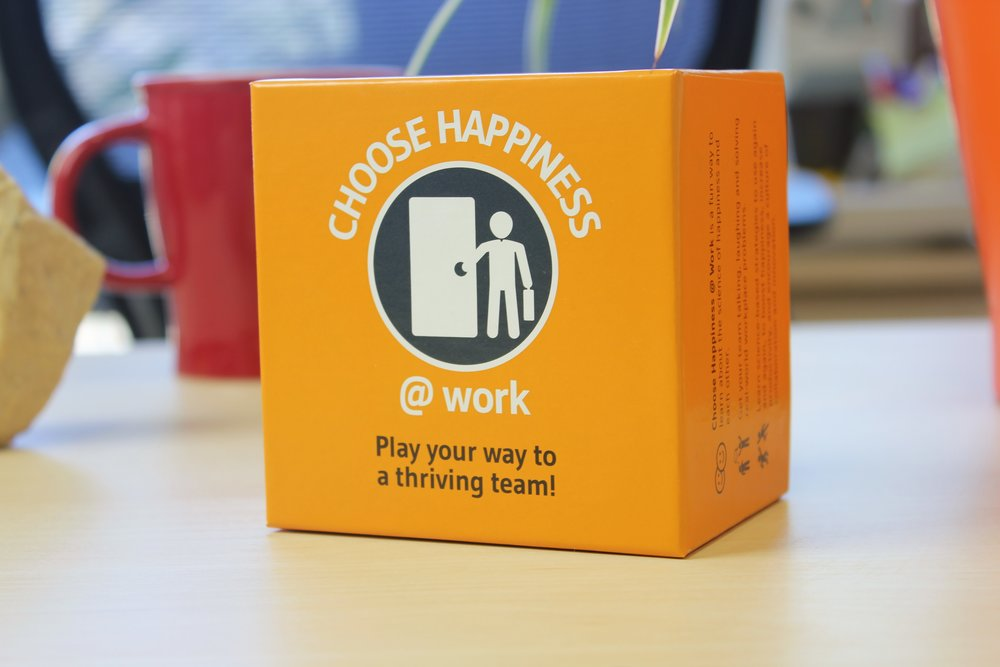 Choose Happiness @ Work - Choose Happiness @ Work gets people talking, laughing, and solving real-world workplace problems while learning science-based strategies to apply at work.
