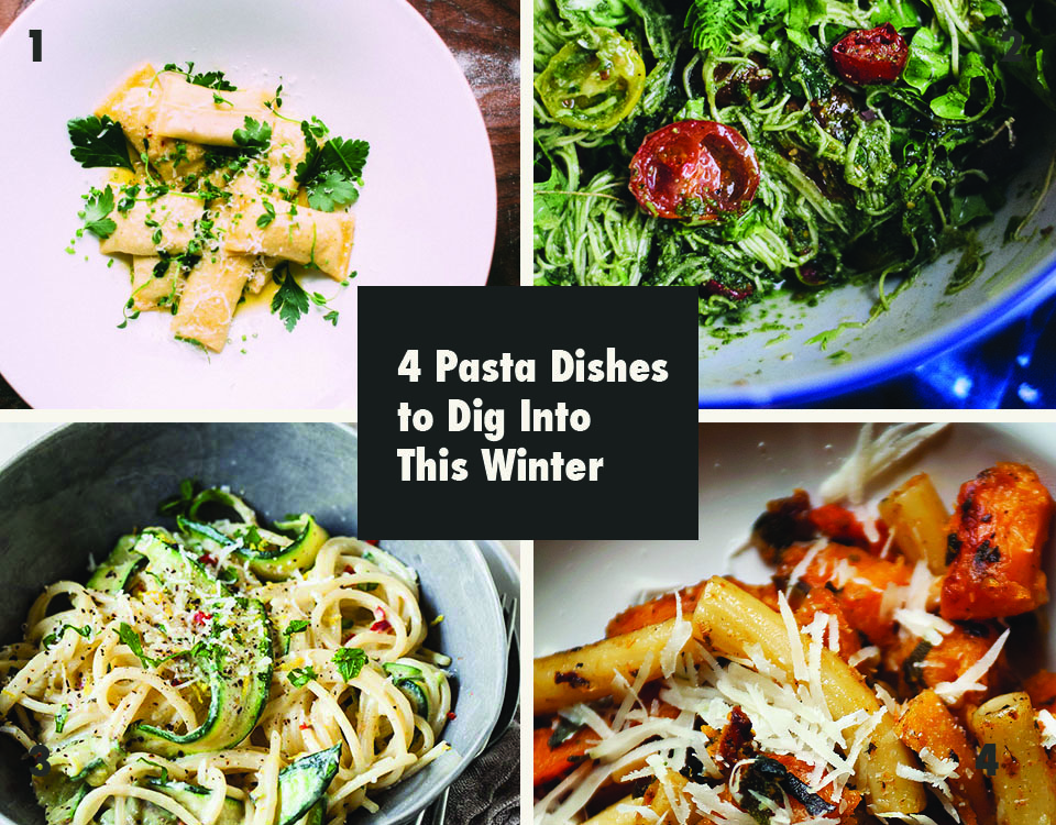 4 pasta dishes to dig into this winter via Print Em Shop