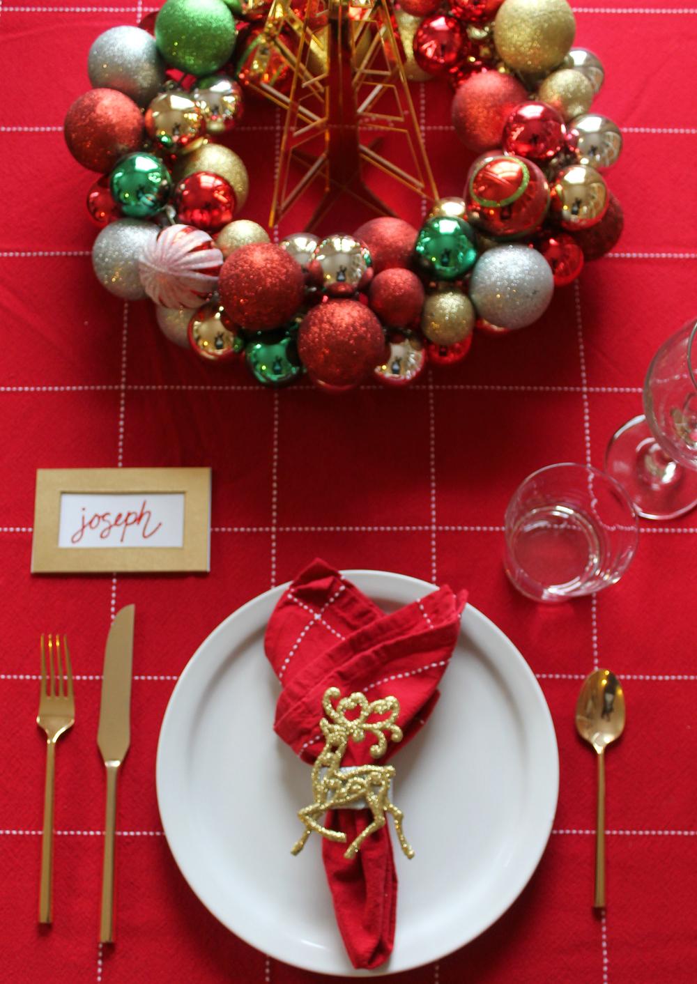 Christmas Napkin Rings via Print (Em) Shop