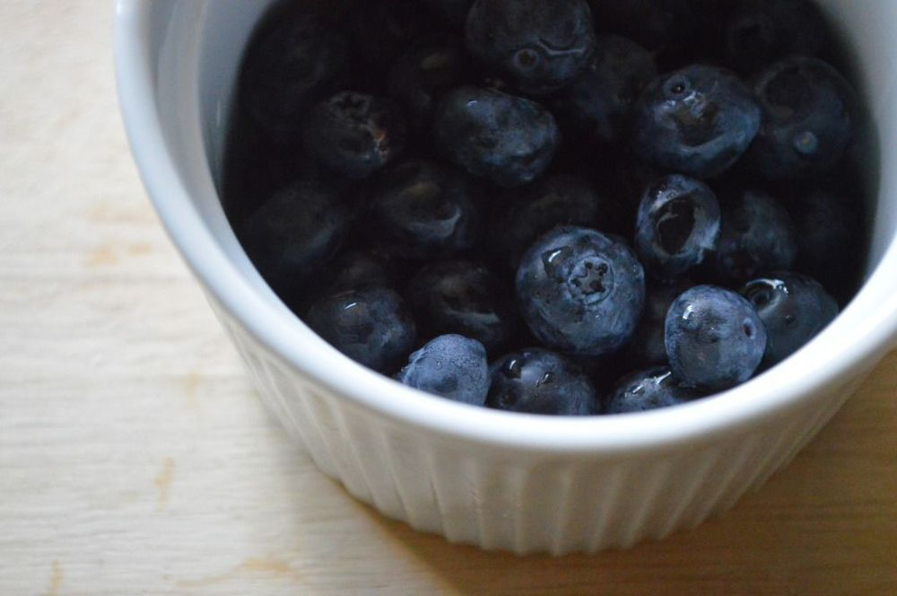 Blueberry and Coconut Chia Pudding // Print (Em) Shop + The Stiles Files