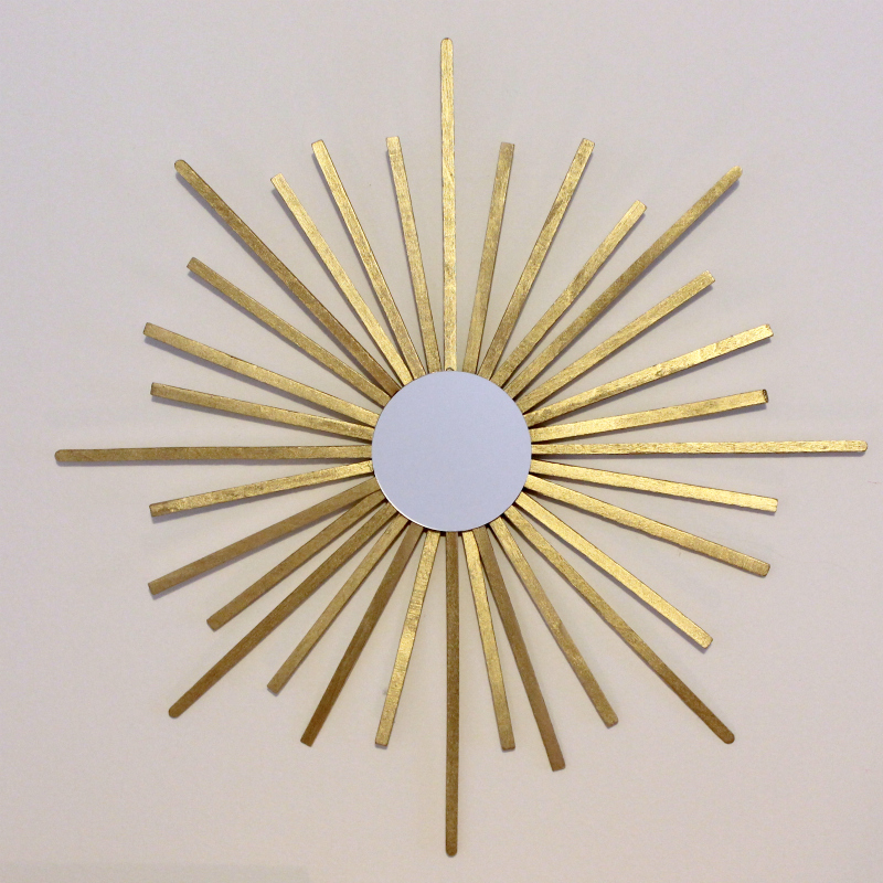 Mini Sunburst Mirror via Print (Em) Shop