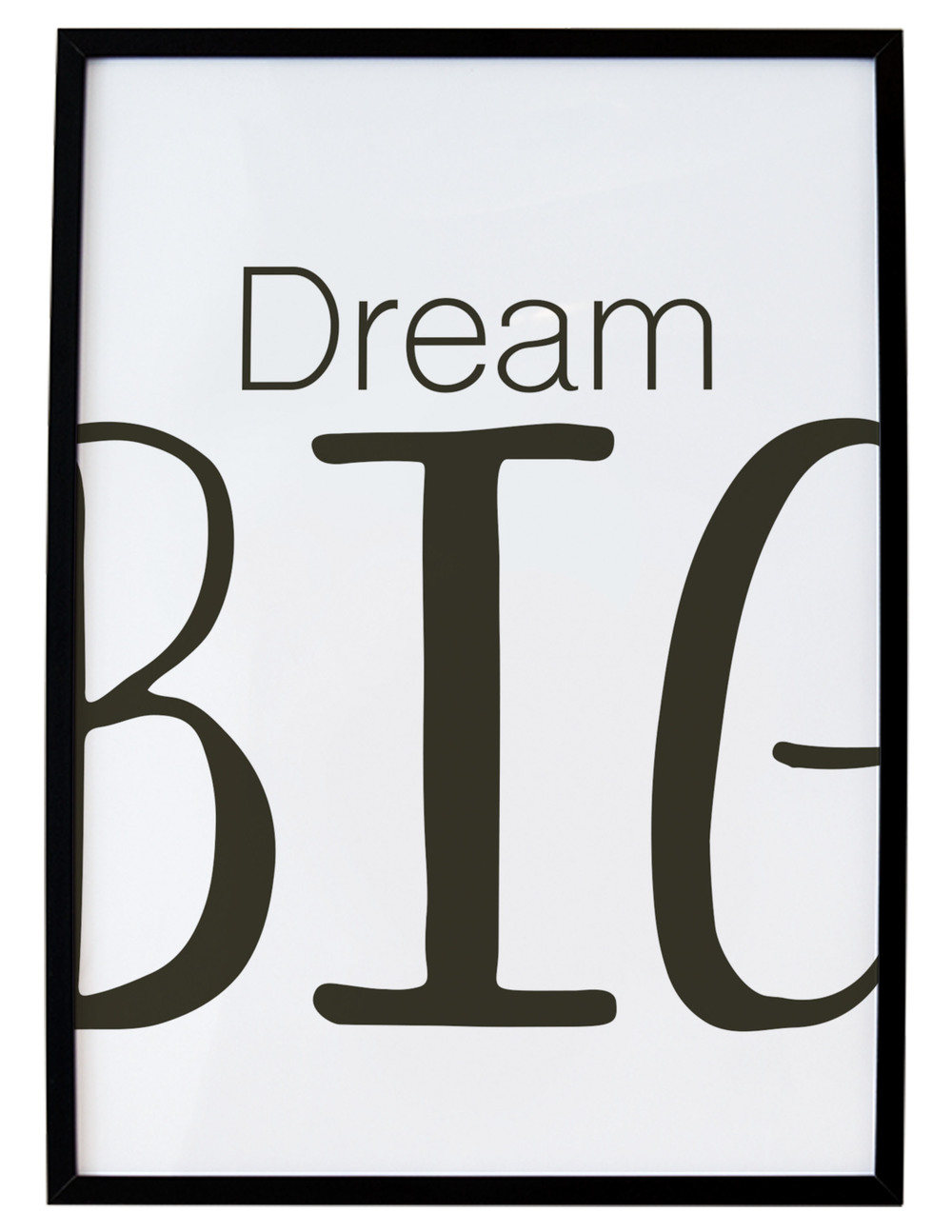 Dream Big Free Printable // Print (Em) Shop