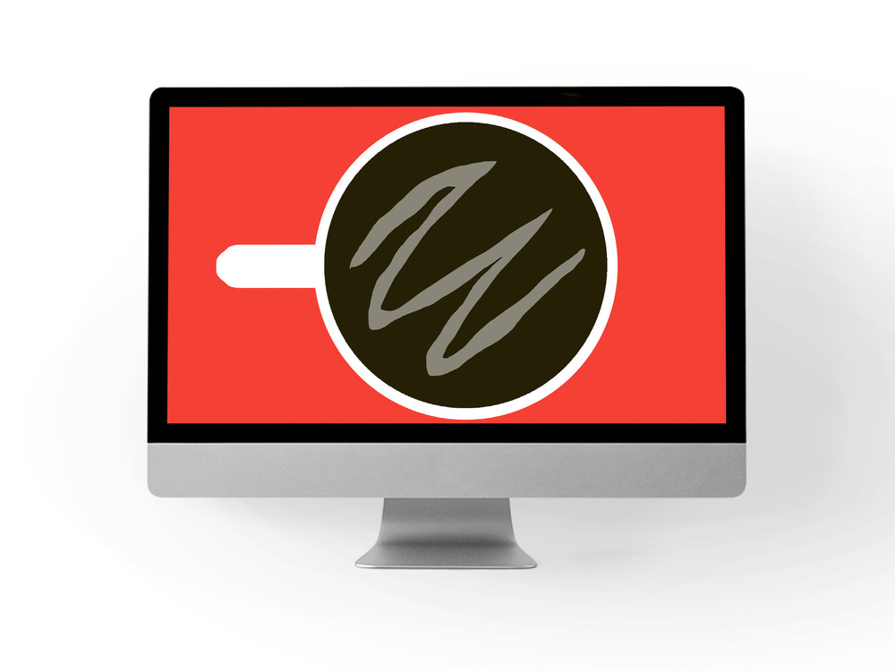 coffee break desktop backdrop // print (em) shop