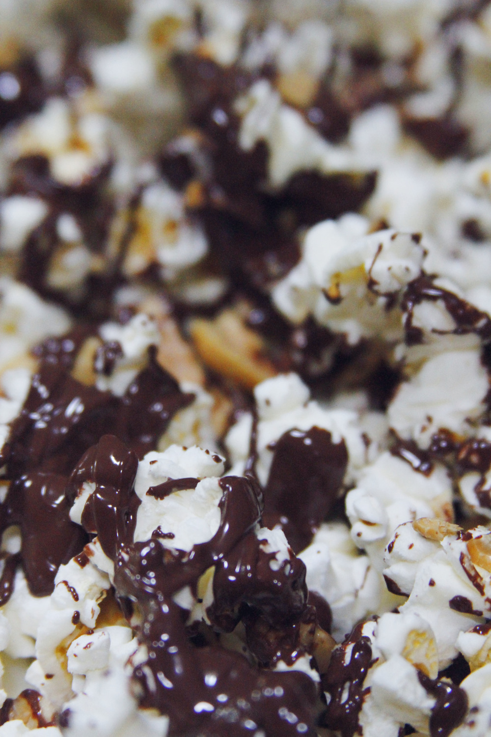 peanut chocolate popcorn // print (em) shop