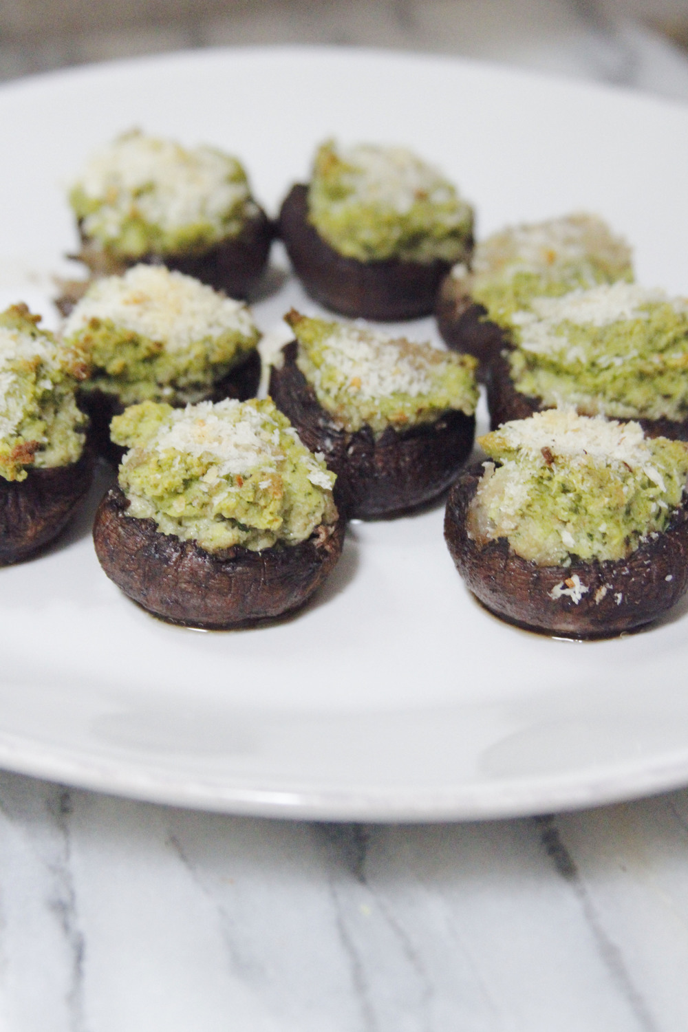 herb stuffed mushrooms
