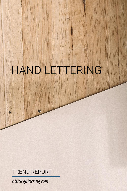 Insta Lust Hand Letting // Print (Em) Shop