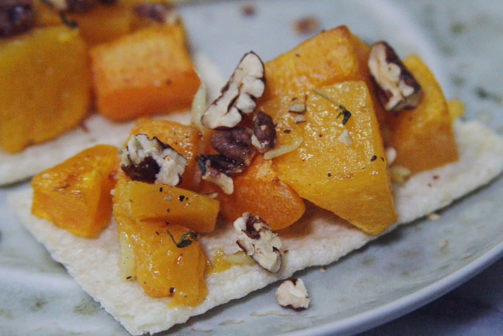 butternut squash // a little gathering