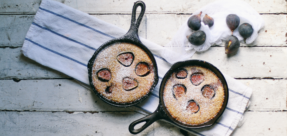 FIG & BROWN SUGAR CLAFOUTIS