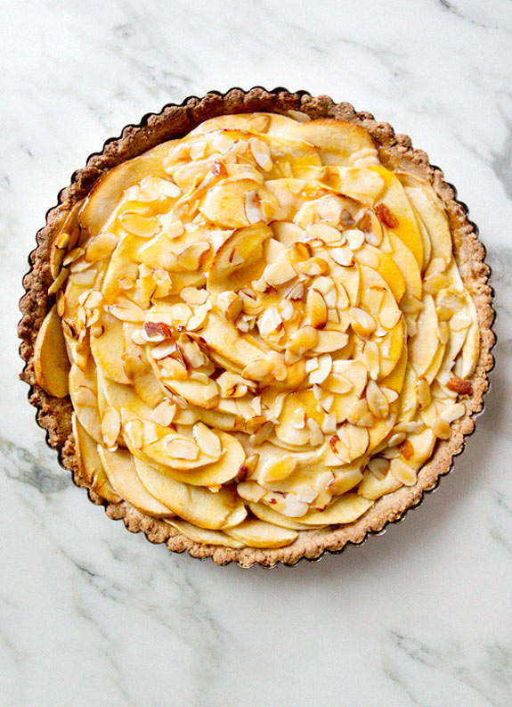 APPLE TART {VEGAN, GLUTEN FREE!}