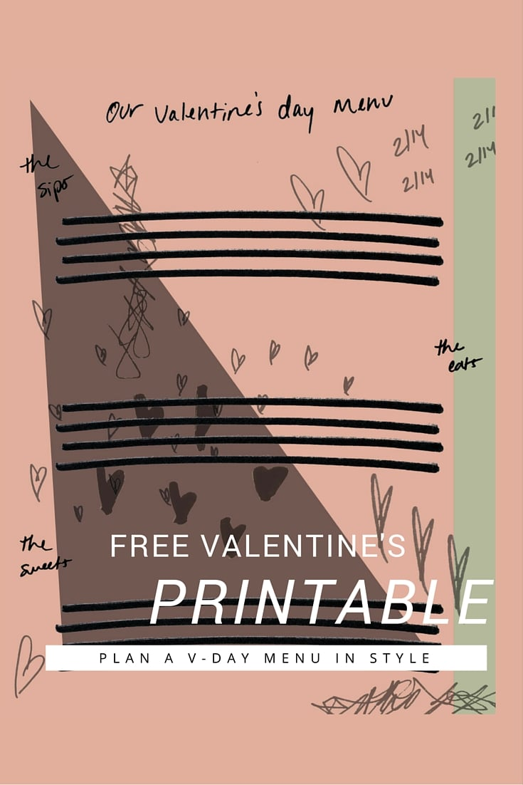 a little gathering v-day printable