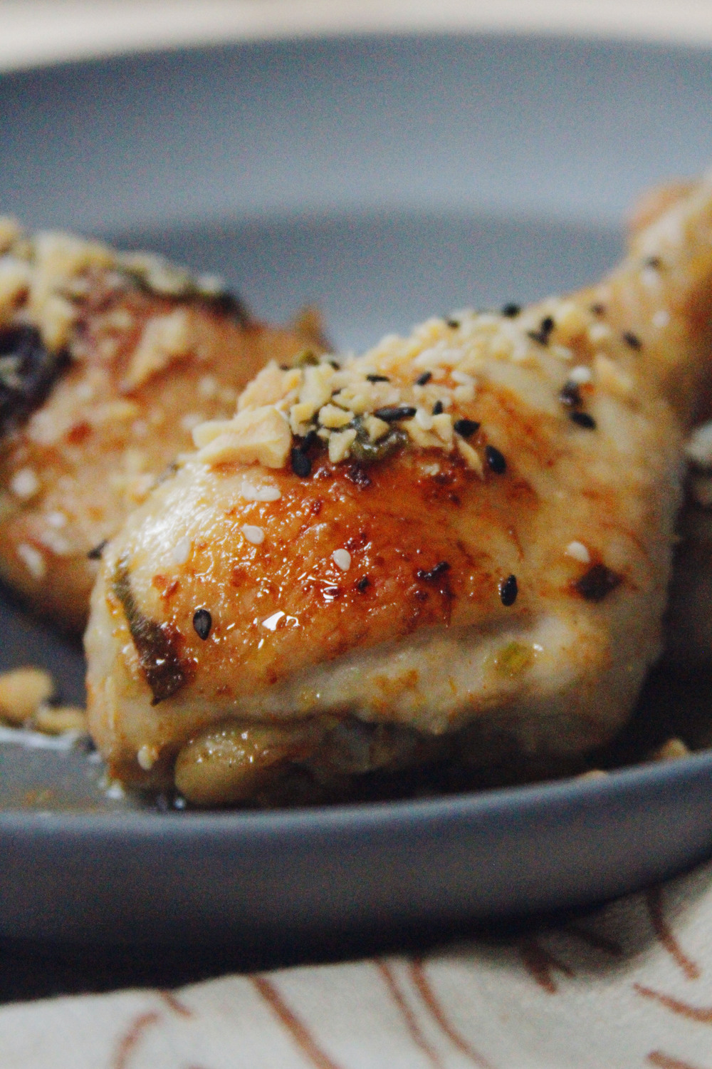 sesame drumsticks // a little gathering