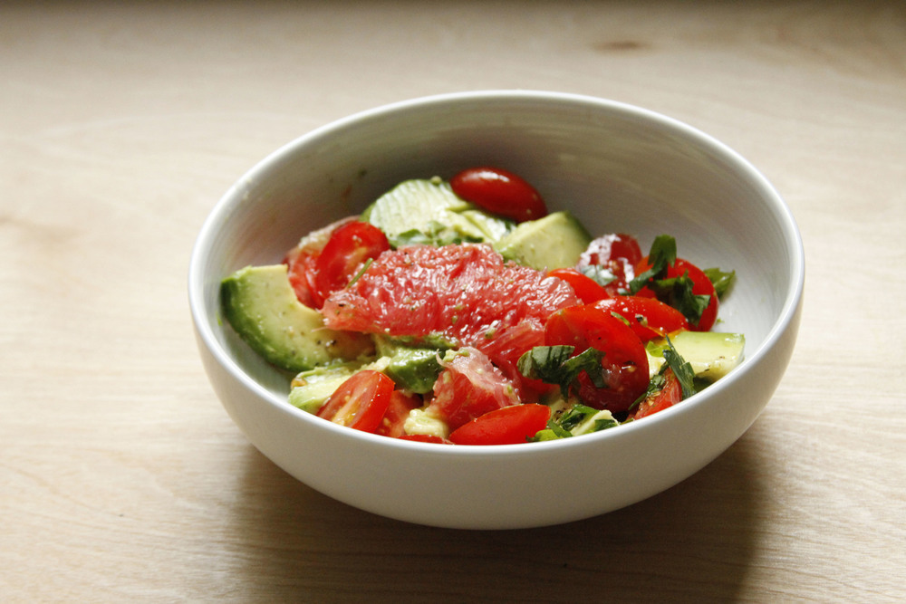 grapefruit and avocado salad // a little gathering