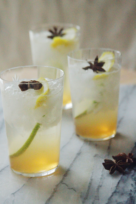 chai pear lemonade // a little gathering