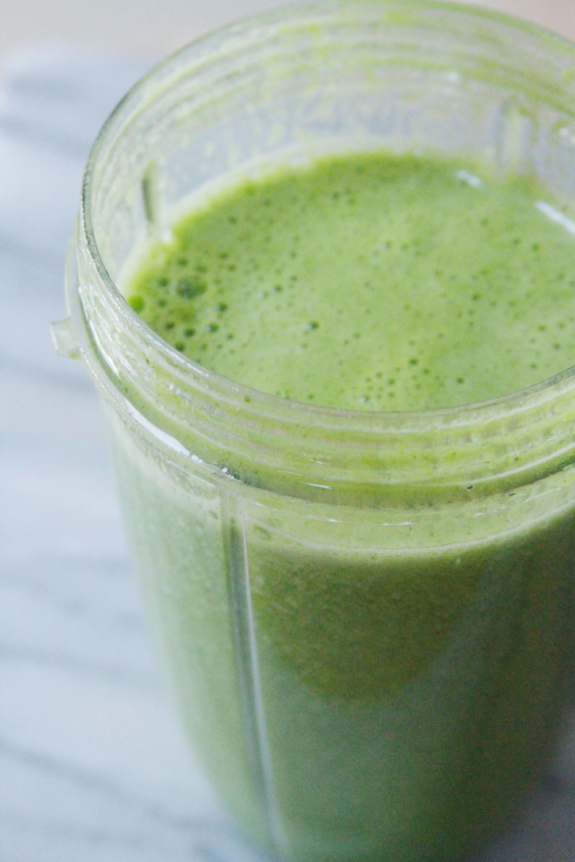 green juice granita
