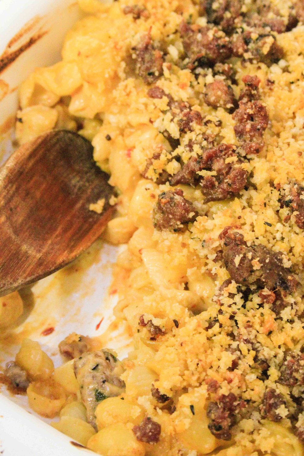 Chipotle mac and cheese shells