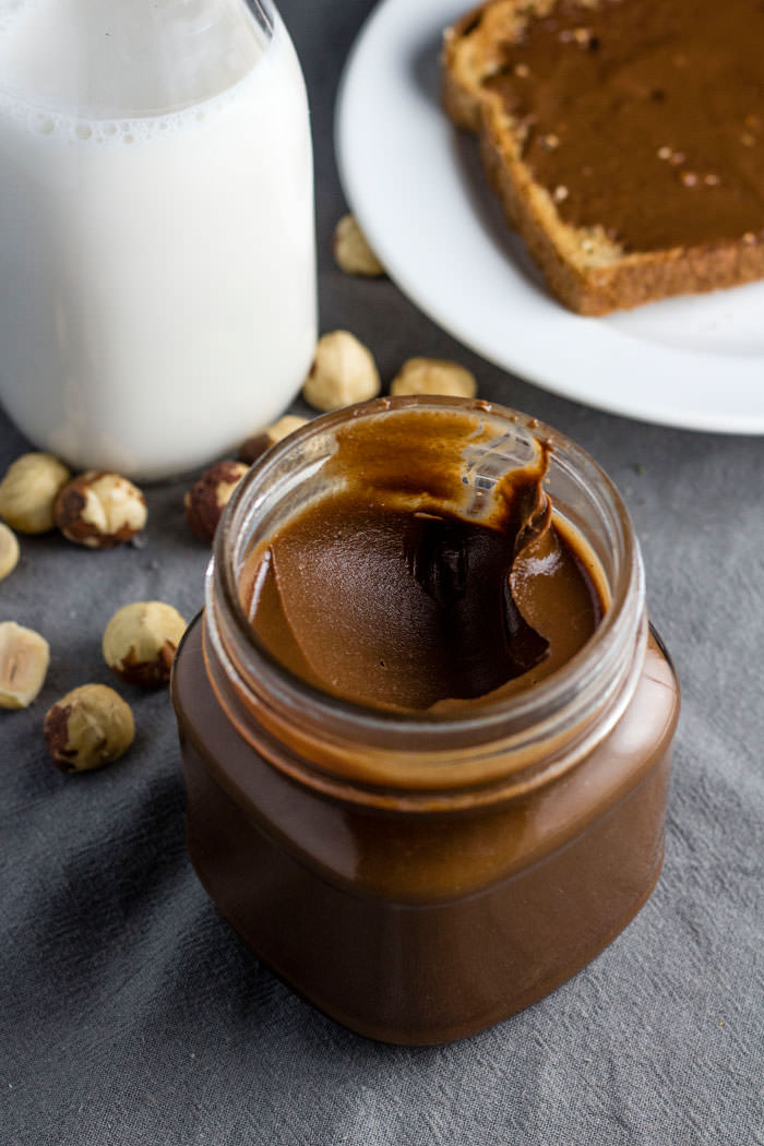 Two-ingredient Nutella