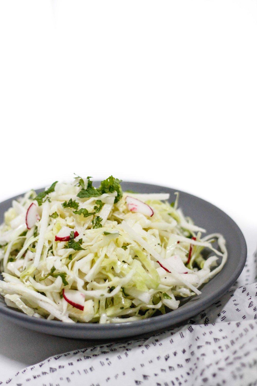 Crunchy jicama salad