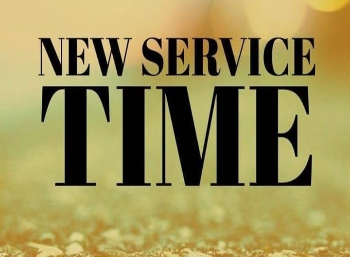 BEGINNING FEB 7: SUNDAY SERVICE @ 10:30 AM