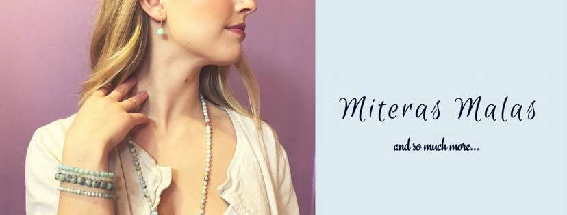 Miteras Malas - Hand-made gemstone Malas and jewellery.  Specializing in quality pieces for women and men as well as custom orders!  Check out the collections @miterasmalas on Instagram.