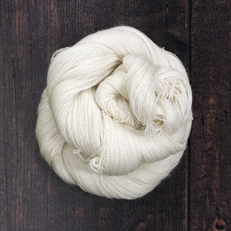 Type 49005  Angel Lace  70% Baby Alpaca              20% Silk, 10% Cashmere  100g hanks 1200m per 100g