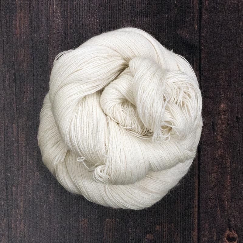 Type 49005 Angel Lace 70% Baby Alpaca       20% Silk, 10% Cashmere 100g hanks 1200m per 100g