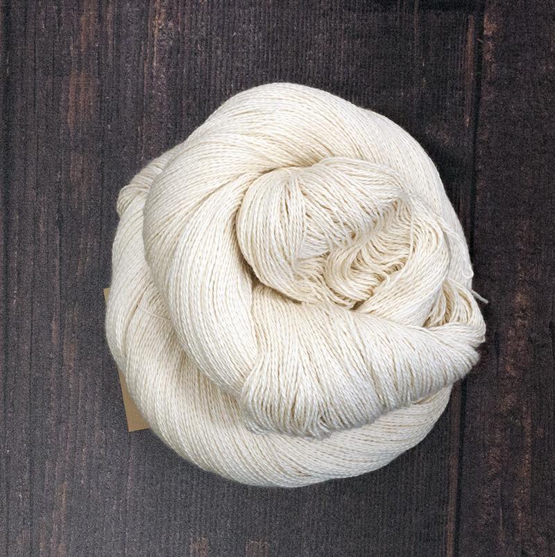 Type 49006  Lush Lite Lace  80% Extra Fine Merino  20% Silk  100g hanks 800m per 100g